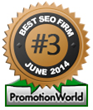 SEOP.com Named #3 Best SEO Company by PromotionWorld