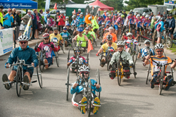 image of Kelly Brush  Ride start