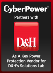 CyberPower Systems Partners With D&H Distributing