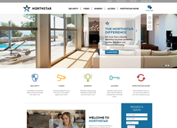 "NorthStar Alarm launches new ""NorthStar Home"" look that highlights home automation and security solutions."