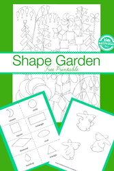shape garden activities