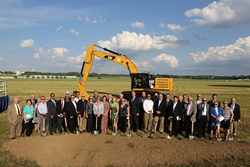 DAYTON, Ohio -- Donors to the Air Force Museum Foundation's Expanding the Legacy capital campaign attended the fourth building groundbreaking ceremony on June 3, 2014.