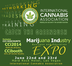 Cannabis Career Institute Joins with International Cannabis Association for Las Vegas Marijuana Business EXPO