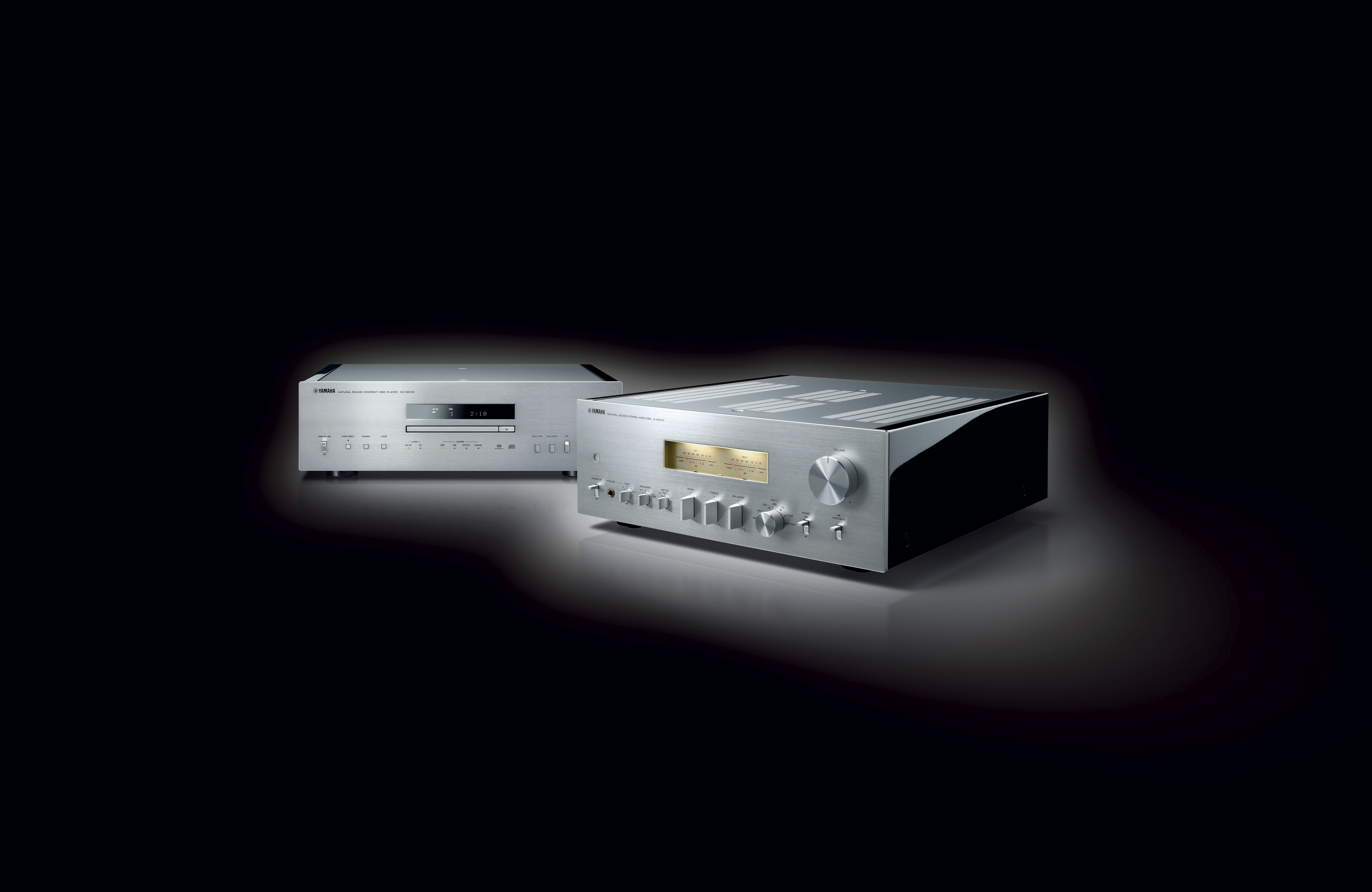 yamaha a s2100 amp and cd s2100 cd player let listeners. Black Bedroom Furniture Sets. Home Design Ideas