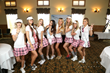 Celebrity caddies auctioned off for charity