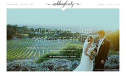 WeddingLovely homepage