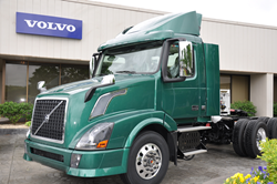 CNG-powered Volvo VNL daycab destined for KANE's fleet