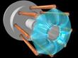 Dense Plasma Focus - internal view