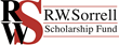 The R.W. Sorrell Scholarship Fund Logo