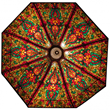 Ceiling dome: Large and beautiful 7-foot leaded glass 8-panel ceiling dome, the panels having serpentine form (est. $10,000-$15,000).
