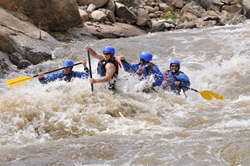 The best time to go rafting in Colorado is now.