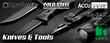 Best Selection of Tactical Knives - 5.11 Tactical, Cold Steel, CRKT, Emerson, KABAR, Kershaw, SOG, Spyderco..