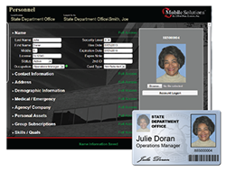 Mobile ID Accountability Software Solution