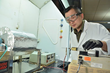Yong Zhao, Ph.D., SDSM&T research scientist, is on the Nanofiber Separations team. The startup company founded by Todd Menkhaus, Ph.D., and Hao Fong, Ph.D., has been awarded nearly $710,000.