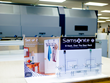 2XL Imaging recently created an effective Samsonite retail display with Vycom's Celtec PVC material.