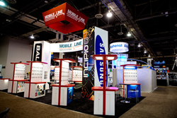 Absolute Exhibits' client at CTIA Wireless 2013 Las Vegas