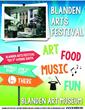 Blanden Art Festival Flyer