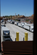 International commerce moving across the border at Nogales.