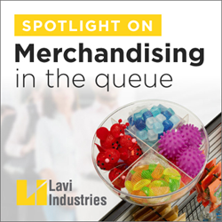 in-queue merchandising solutions