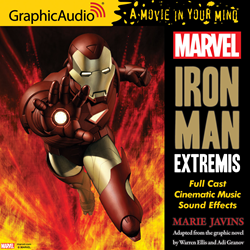 MARVEL'S IRON MAN: EXTREMIS in GraphicAudio