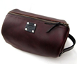 Father's day personalized leather Shaving Bag