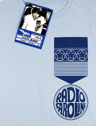 Worn Free Radio Caroline T-Shirt as originally worn by Keith Moon