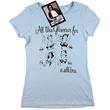 Worn Free 'Glamour' Women's T-Shirt as originally worn by John Lennon