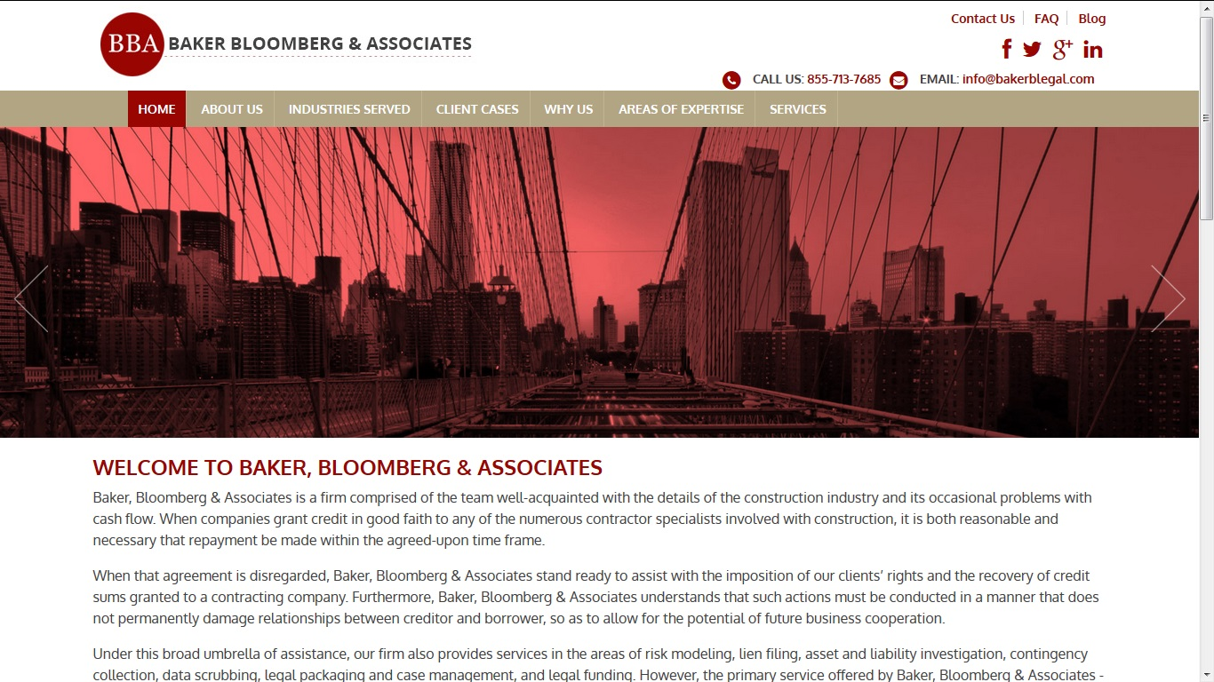 baker bloomberg associates now offering quality debt recovery