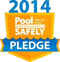 Pool Safely Pledge Logo