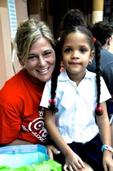 Dr. Kendi Howells Douglas visits a Dominican Republic Non-Profit Organization