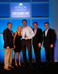 Continuity Centers Takes Home 'MSP of the Year' Award at CA arcserve Horizon Partner Summit - Spearheads Data Protection Industry Trends