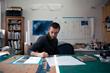 Sam Winston in Studio