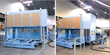 DMS Enclosed 5 Axis Twin Moving Tables CNC Router for Aerospace