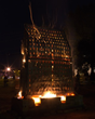 The NA Office of Duesseldorf Tourism & Airport Announce: Spectacular Fire Sculpture in Live Art Project at Quadriennale Duesseldorf - The Creative Power of Fire