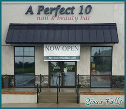 A Perfect 10 Nail & Beauty Bar Sioux Falls, SD