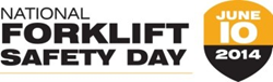 National Forklift Safety Day will serve as a focal point for manufacturers to highlight the safe use of forklifts and importance of operator training.