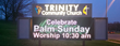 Trinity Church LED Sign