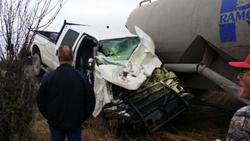 Manuel Moreira's Damaged Truck