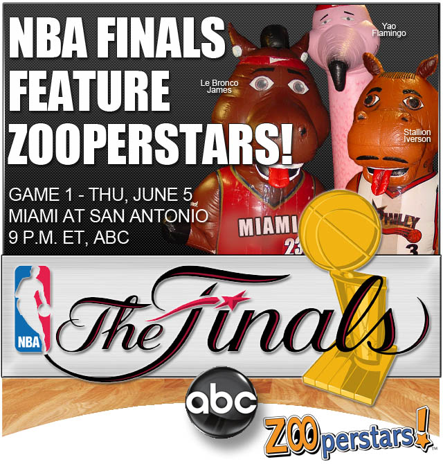 ZOOperstars! Announced As Halftime Show For Game 1 Of NBA