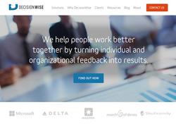 DecisionWise New Website Design