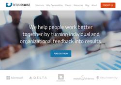DecisionWise New Website Design
