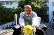 Hotel Shangri-la's Managing Director Henri Birmele is ready for World Cup Soccer