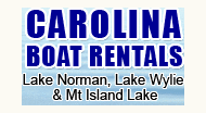 For more information or to place a reservation for a Lake Norman boat rental please visit http://www.carolinaboatrentals.net or phone them at (704) 614-2118.