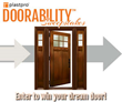 The Search Is on for the Plastpro #Doorability - Curb Appeal Makeover...