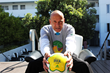 Hotel Shangri-la's Managing Director Henri Birmele is ready for the World Cup Soccer Knockout Rounds