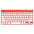 bluetooth wireless keyboard fully compatible with most tablet and iPad models