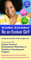 The Evoluer House Empowerment Programs for Teen Girls in Philadelphia.