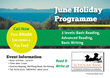 Scholar Base's Holistic Programme Includes Reading and Writing Courses, as Well as Excursions