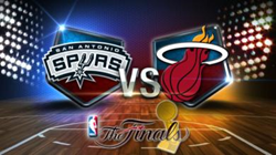 Heat vs Spurs in 2014 Finals
