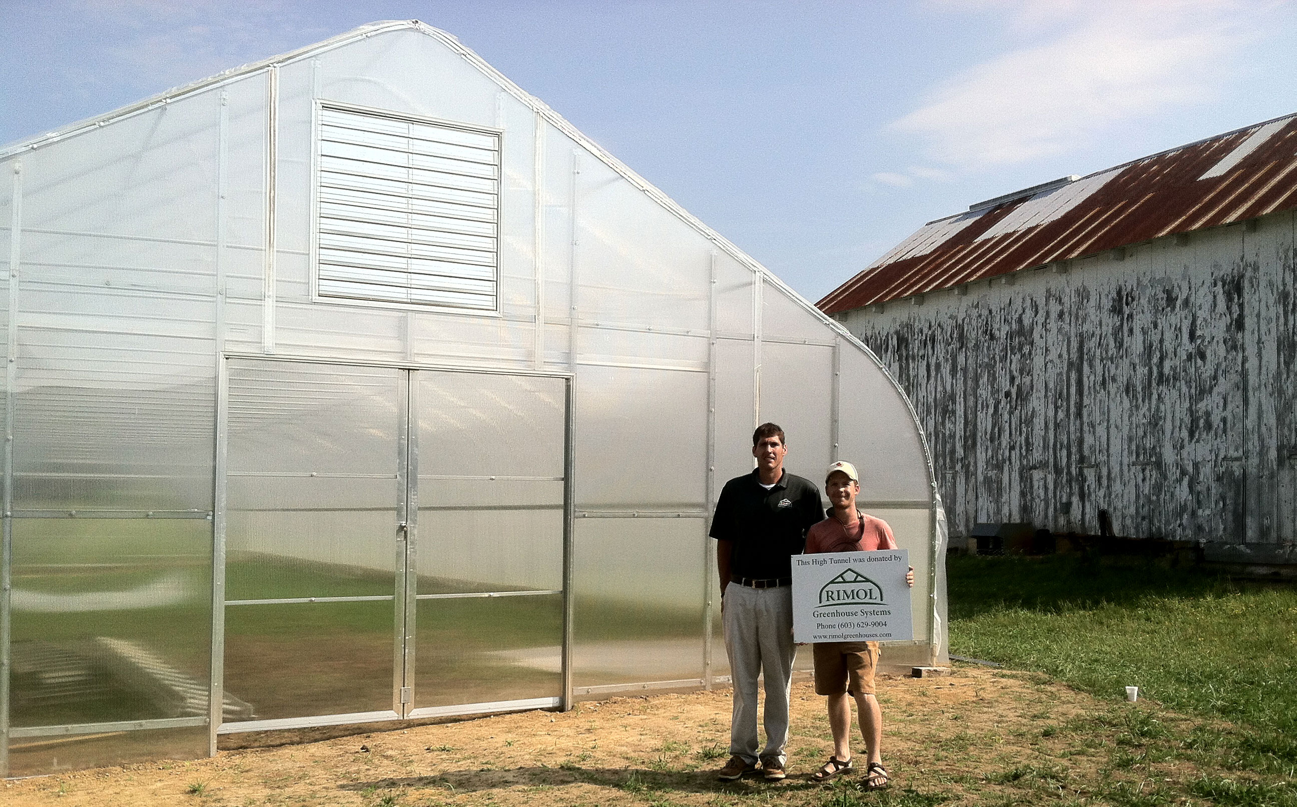 university of maryland dining services receives greenhouse donation from rimol greenhouse systems - Rimol Greenhouse Of Photos